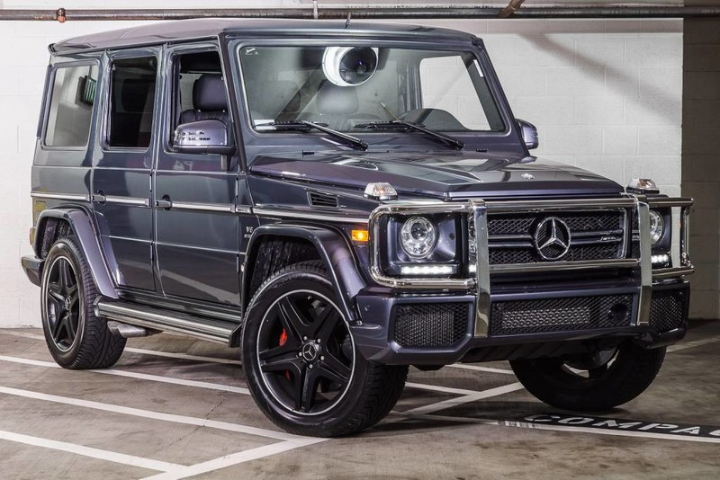 Pre owned 2016 mercedes benz g class amg g63 sport for Pre owned mercedes benz g class